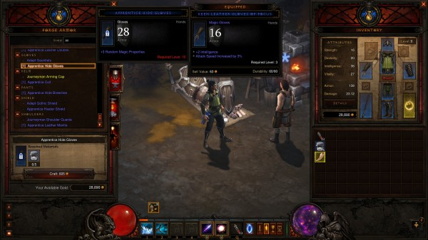 Diablo  How To Access Crafting Materials